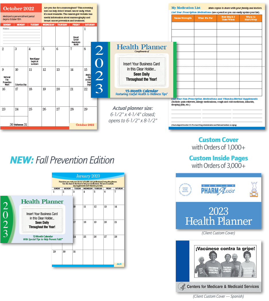 Senior Health Pocket Planner