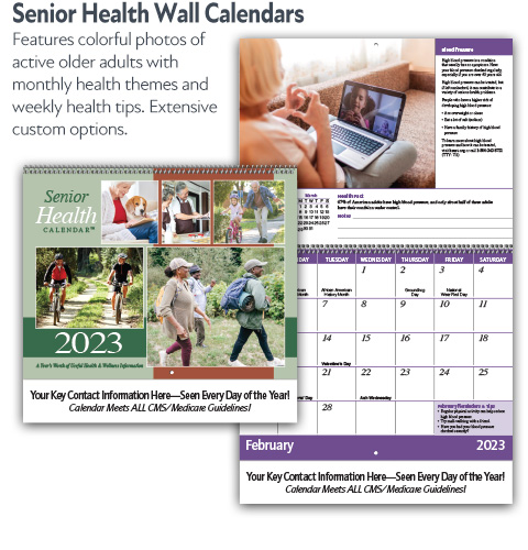 Senior Health Wall Calendars