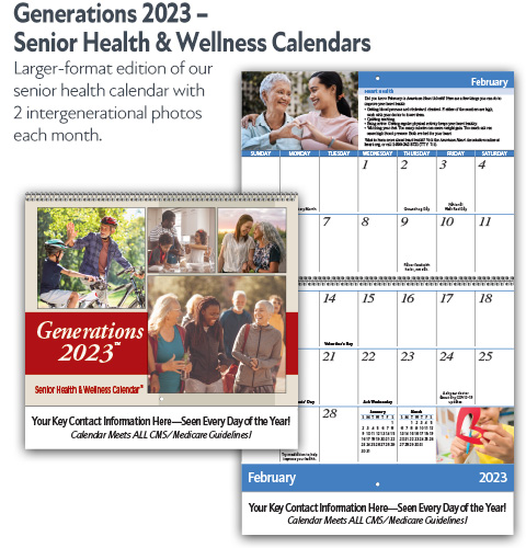 Generations Senior Health & Wellness Calendar