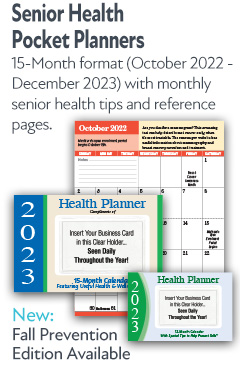 Senior Health Pocket Planners