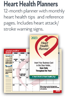 Heart Health Planners
