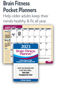 Brain Fitness Pocket Planners